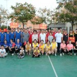 """Happy National Day"" Jiangsu Colundo organized a basketball friendly match"